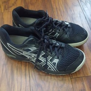 Asics volleyball shoes 8 1/2